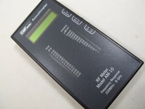 EMFields Acoustimeter RF Meter Model AM-10