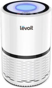levolt smoke air purifier, white