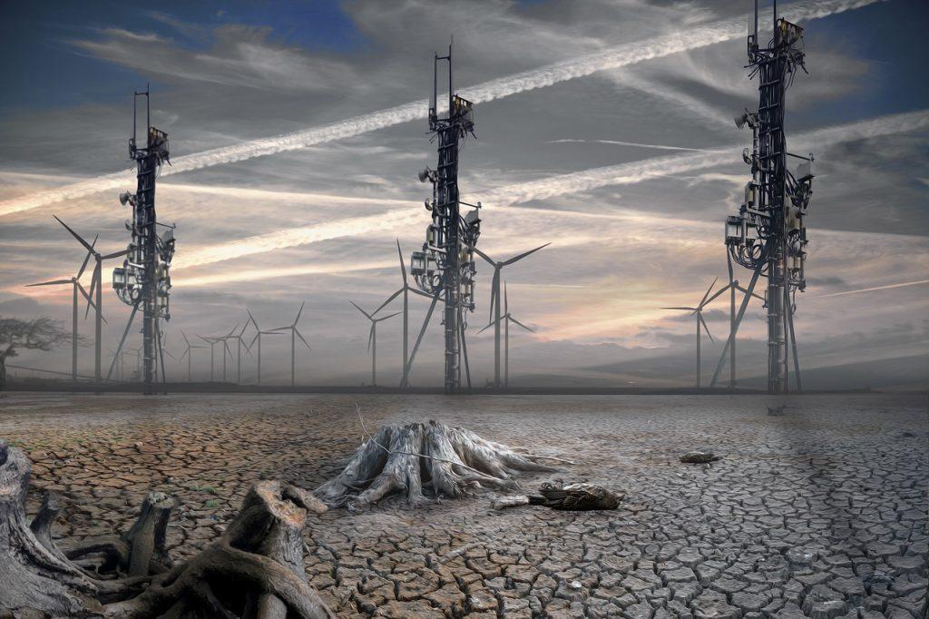 5G wasteland desert