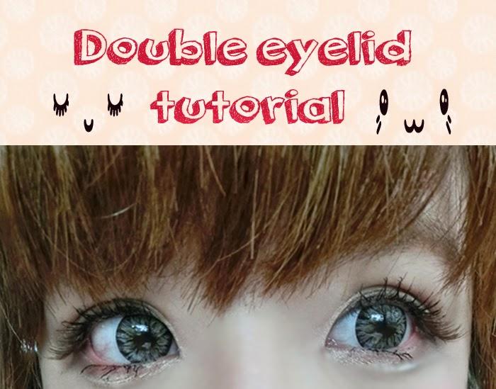 double eyelid DIY