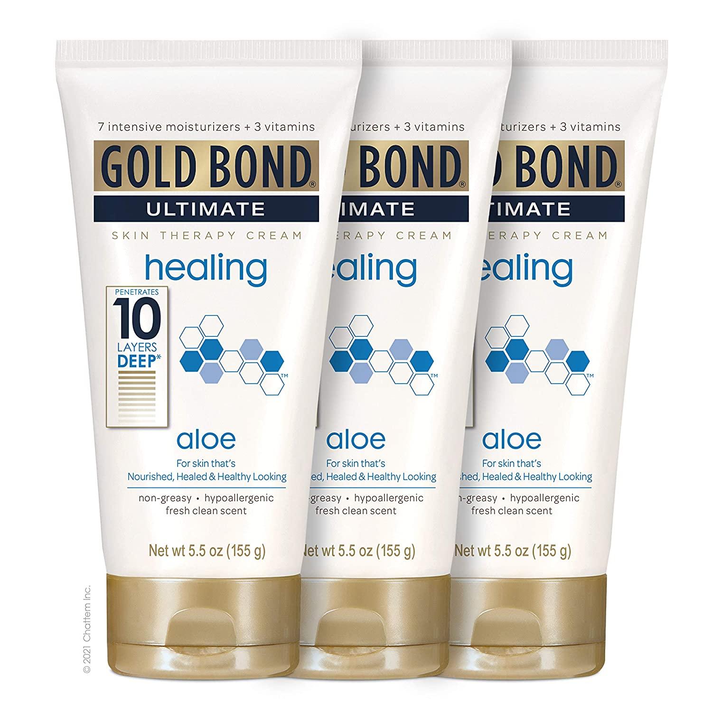 gold bond healing for face