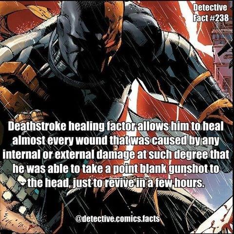 super hero healing powers