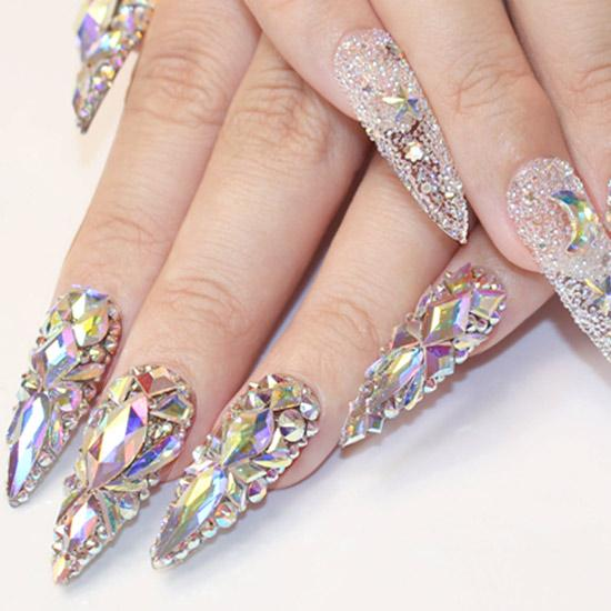 Can You Hotfix Crystals on Nails