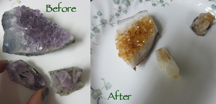 Why Do Crystals Turn White