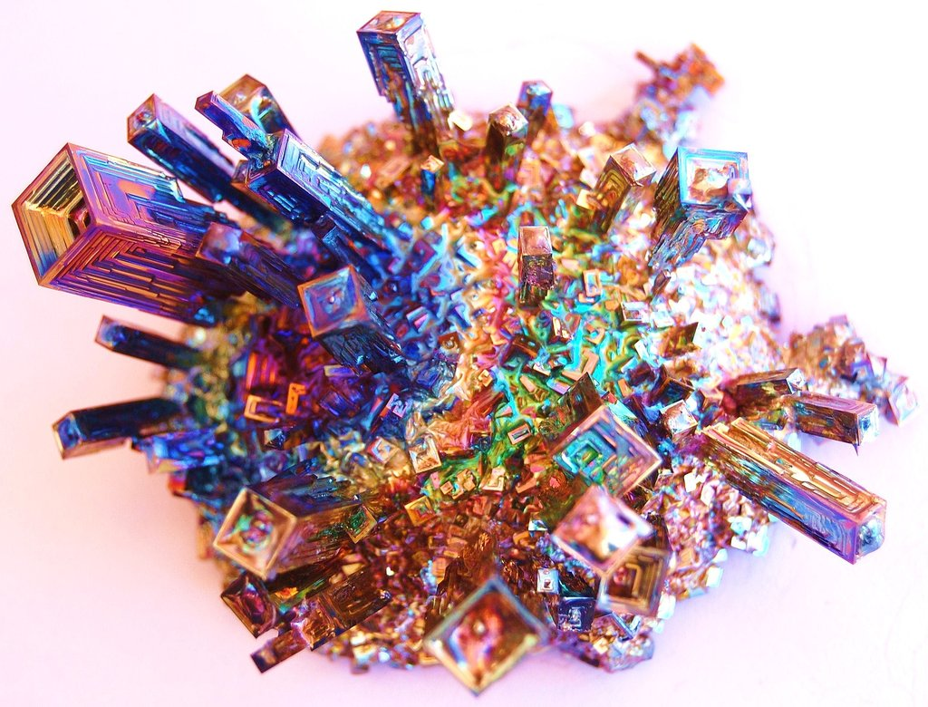 Why Does Bismuth Form Crystals